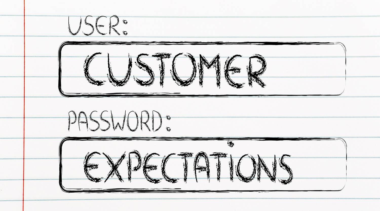 על ספקים, לקוחות, ציפיות והימנעות מאכזבות
